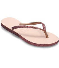 sllim sparkle ii shoes summer shoes flip flops rosa havaianas