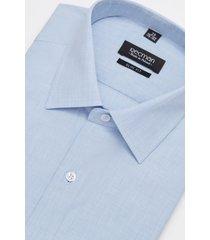 koszula corsini 2995 długi rękaw slim fit niebieski