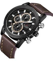 reloj armiforce 8003 cronografo - café