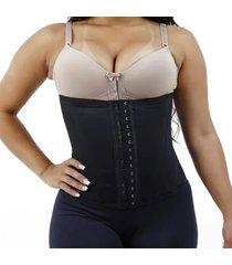 cinta modeladora borzzi wear ajustã¡vel preto - preto - feminino - dafiti