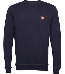 piece sweatshirt sweat-shirt trui blauw les deux