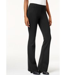 style & co bootcut ponte pants, created for macy's