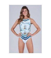 body new beach trilobal localizado amalfi feminino