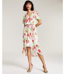 bar iii ruffled high-low dress, created for macy's