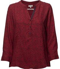 l/s shirts blouse lange mouwen rood signal