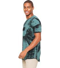 camiseta polo wear estampada verde - verde - masculino - algodã£o - dafiti