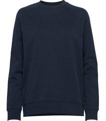 m urban crew sweat-shirt tröja blå peak performance