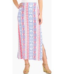 jm collection printed knit maxi skirt, created for macy's
