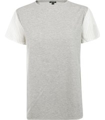 aspesi paneled t-shirt