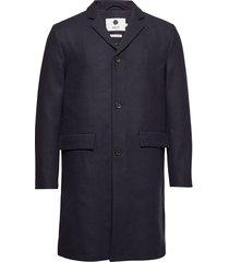 lamont 8219 outerwear coats wool coats blauw nn07