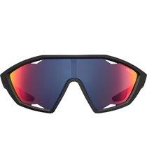 prada eyewear linea rossa active sunglasses - black