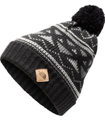 gorro fair isle negro the north face