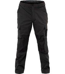 pantalon cargo hw dakota spandex carbon grey hardwork