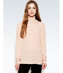 desi pullover - m pink champagne
