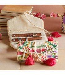 sundance catalog women's imagine jewelry pouch