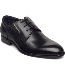 laced derby shoe snörade stövlar svart tga by ahler
