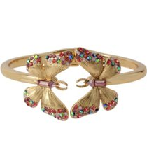 betsey johnson butterfly bangle bracelet