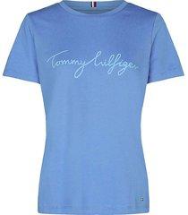 t-shirt graphic blauw