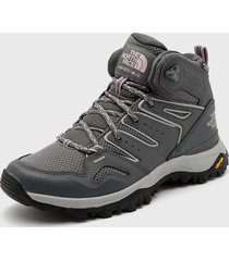 zapatilla w hedgehog fastpack ii mid wp gris the north face