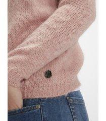maglione in alpaca e lana