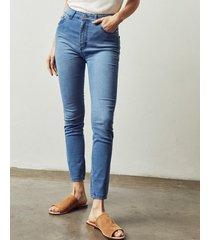 jean azul portsaid legging basic saten