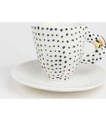 filiżanka porcelanowa b&w do espresso