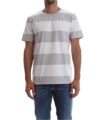 premium by jack&jones 12107656 pima striped t shirt and tank men grey