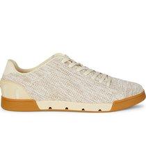 swims men's breeze tennis knit sneakers - beige - size 8