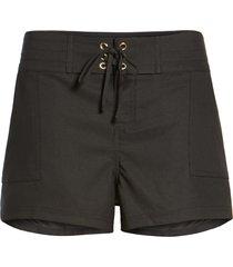 la blanca 'boardwalk' shorts, size medium in black at nordstrom
