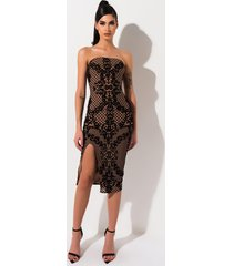 akira miami fever tube midi dress