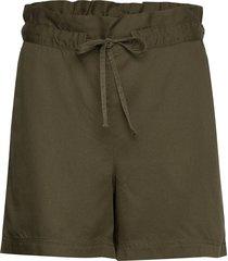 johanna lyocell shorts shorts paper bag shorts grön lexington clothing