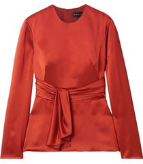 brandon maxwell blouses