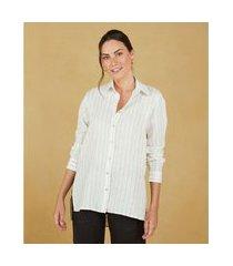 camisa lilien cor: off white - tamanho: pp