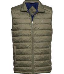 d1. the light down gilet vest groen gant