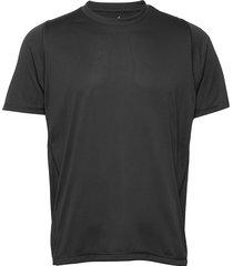 fl geo tee t-shirts short-sleeved svart adidas performance