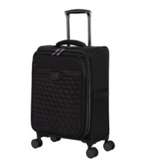 "it girl 22"" spectacular softside semi-expandable spinner suitcase"