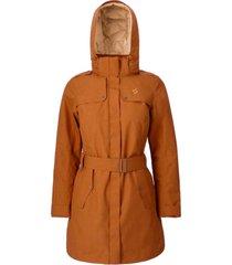 abrigo mujer aurora marrón doite