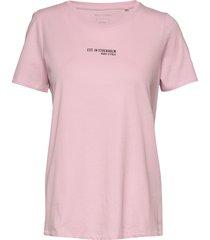 t-shirt, short sleeve t-shirts & tops short-sleeved rosa marc o'polo