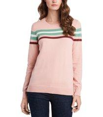 riley & rae loretta striped sweater, created for macy's