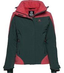 icerocket jkt w outerwear sport jackets grön salomon