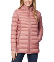 32 degrees packable hooded down puffer coat, created for macy's