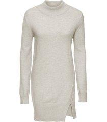 maglione lungo con spacco (beige) - bodyflirt