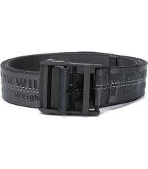 industrial contrasting logo belt