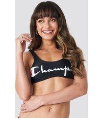 champion aop bikini top - black