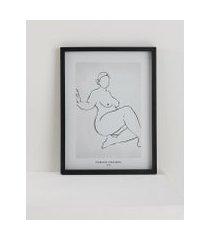 amaro feminino quadro female figures nº2 32 cm x 42 cm, female figure nº 2