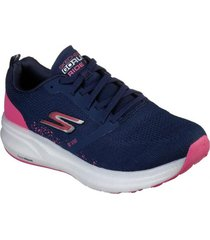 zapatilla go run ride 8 azul marino skechers
