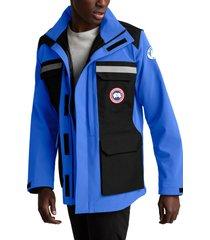 men's canada goose pbi photojournalist water resistant jacket, size x-large - blue