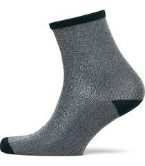 dina solid coll. lingerie socks regular socks grå becksöndergaard