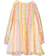 multicolor teen dress.