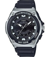 reloj analógico hombre casio mwc-100h-1a - negro  envio gratis*